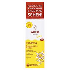 WELEDA Edelweiss Sonnencreme Gesicht LSF 30 50 Milliliter - Vorderseite