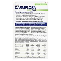 Avitale Darmflora Aktiv Plus 40 Stück - Rückseite