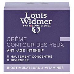 WIDMER Creme für die Augenpartie leicht parfüm. 30 Milliliter - Rückseite