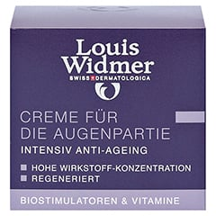 WIDMER Creme für die Augenpartie leicht parfüm. 30 Milliliter - Vorderseite