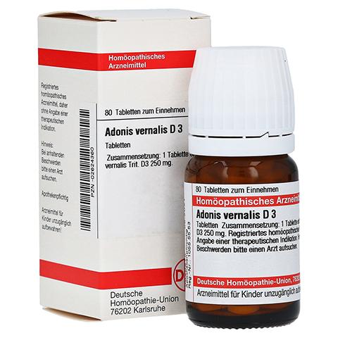 ADONIS VERNALIS D 3 Tabletten 80 Stück N1