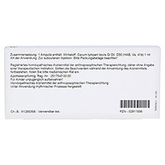 CAVUM tympani GL D 30 Ampullen 10x1 Milliliter N1 - Rückseite