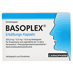 Basoplex Erkältung 20 Stück - Vorderseite