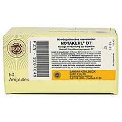 NOTAKEHL D 7 Ampullen 50x1 Milliliter N2 - Oberseite
