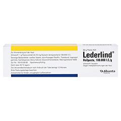 Lederlind Heilpaste 50 Gramm N2 - Rückseite