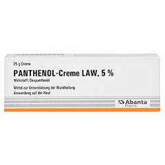 Panthenol-Creme LAW 5% 25 Gramm - Vorderseite