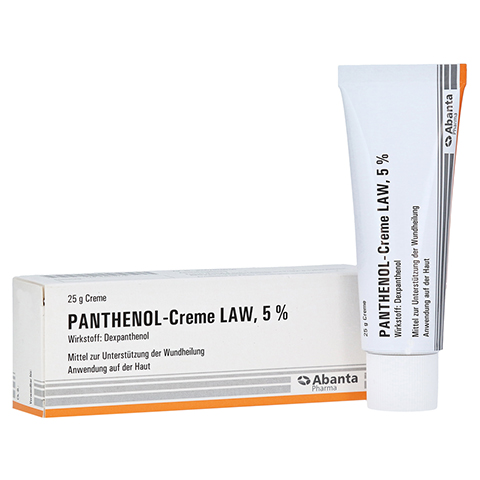 Panthenol-Creme LAW 5% 25 Gramm