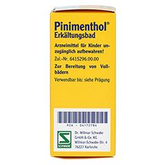 Pinimenthol Erkältungsbad 30 Milliliter - Rechte Seite
