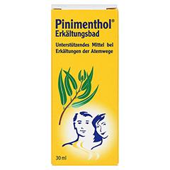 Pinimenthol Erkältungsbad 30 Milliliter - Vorderseite