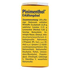 Pinimenthol Erkältungsbad 30 Milliliter - Linke Seite