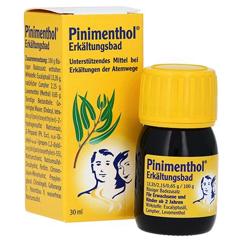 Pinimenthol Erkältungsbad 30 Milliliter