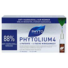 PHYTOLIUM 4 Anti-Haarausfall Kur Ampullen 12x3.5 Milliliter - Vorderseite