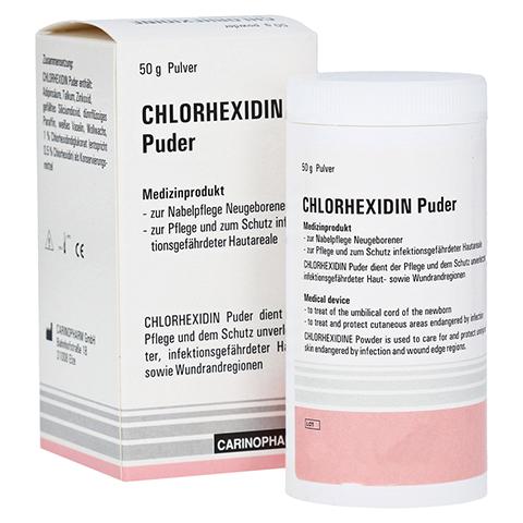 CHLORHEXIDIN Puder 50 Gramm