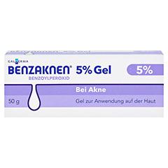 BENZAKNEN 5% Gel 50 Gramm N2 - Vorderseite