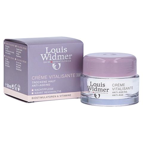 Louis Widmer Creme Vitalisante (unparfümiert) 50 Milliliter