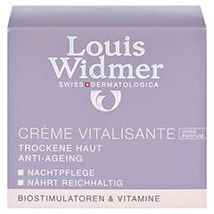 Louis Widmer Creme Vitalisante (unparfümiert) 50 Milliliter - Vorderseite