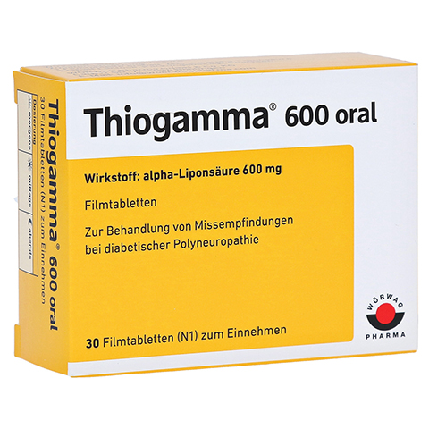 Thiogamma 600 oral 30 Stück N1