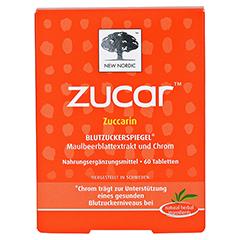 ZUCAR Zuccarin Tabletten 60 Stück - Vorderseite