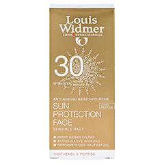 WIDMER Sun Protection Face Creme 30 unparfümiert 50 Milliliter - Vorderseite