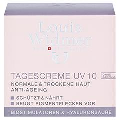 Louis Widmer Tagescreme UV 10 unparfümiert 50 Milliliter - Vorderseite