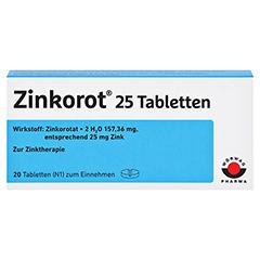 Zinkorot 25 20 Stück N1 - Vorderseite