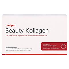 medpex Beauty Kollagen + gratis medpex Kaffeebecher 28 Stück - Vorderseite