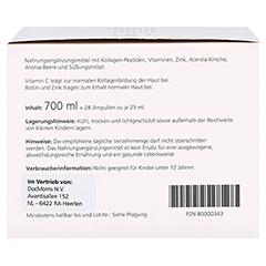 medpex Beauty Kollagen + gratis medpex Kaffeebecher 28 Stück - Rechte Seite