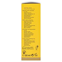 WIDMER Extra Sun Protection SPF 50 Creme unparfüm. 50 Milliliter - Linke Seite