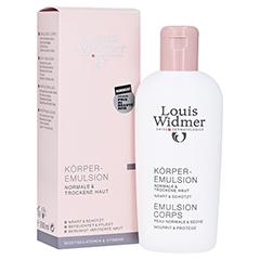 WIDMER Körperemulsion leicht parfümiert 200 Milliliter