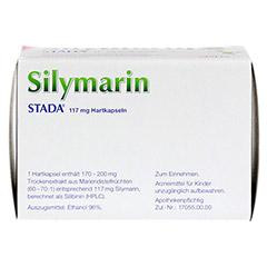 Silymarin STADA 117mg + gratis Nahrungsmittel Intoleranzen Broschüre GU 100 Stück N3 - Unterseite