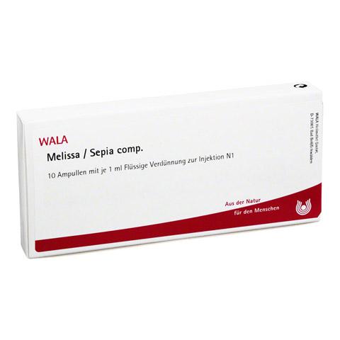 MELISSA/SEPIA comp.Ampullen 10x1 Milliliter N1