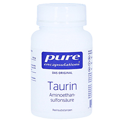 PURE ENCAPSULATIONS Taurin Kapseln 60 St�ck