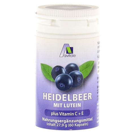 HEIDELBEER KAPSELN+Lutein+C+E 60 St�ck