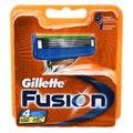 GILLETTE Fusion 4er Klingen