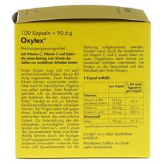 OXYTEX Kapseln 100 Stück - Rückseite