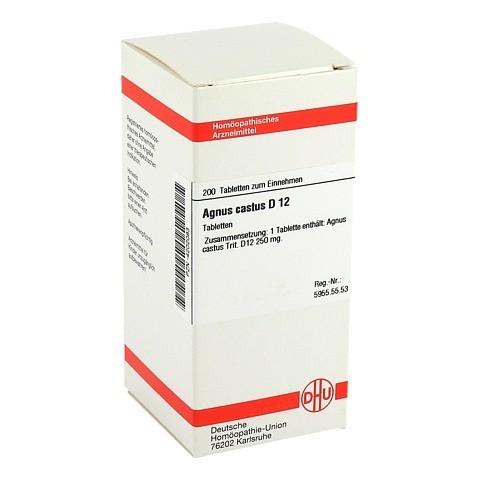 AGNUS CASTUS D 12 Tabletten 200 St�ck N2