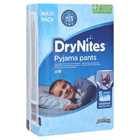 HUGGIES DryNites f.Jungen 4-7 Jahre 16 Stück
