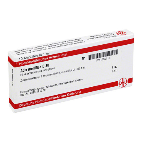 APIS MELLIFICA D 30 Ampullen 10x1 Milliliter N1