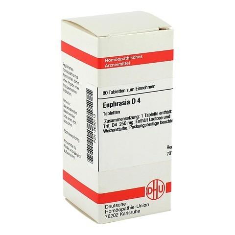 EUPHRASIA D 4 Tabletten 80 St�ck N1
