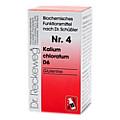BIOCHEMIE 4 Kalium chloratum D 6 Tabletten