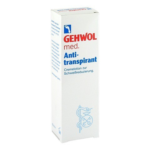 GEHWOL MED Antitranspirant Lotion 125 Milliliter