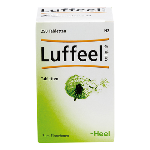 LUFFEEL comp.Tabletten 250 Stück N2