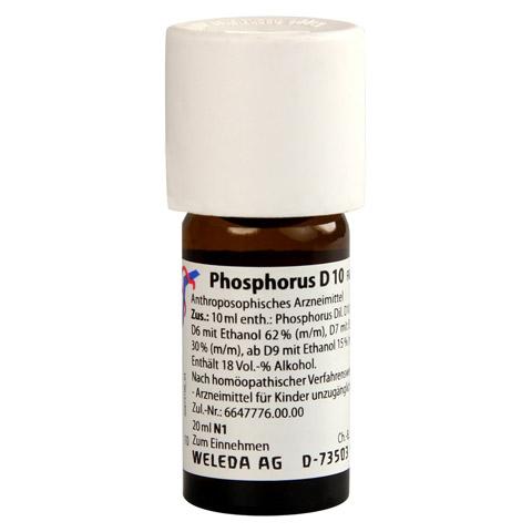 PHOSPHORUS D 10 Dilution 20 Milliliter N1