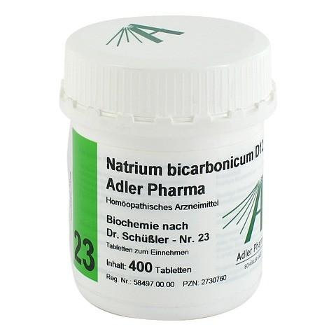 BIOCHEMIE Adler 23 Natrium bicarbonicum D 12 Tabl. 400 Stück