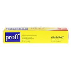 proff� Schmerzcreme 50mg/g 100 Gramm N2 - Unterseite