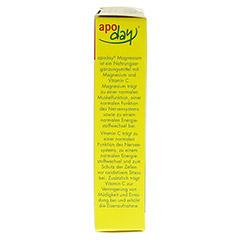 APODAY Magnesium Mango-Maracuja zuckerfrei Pulver 10x4.5 Gramm - Linke Seite