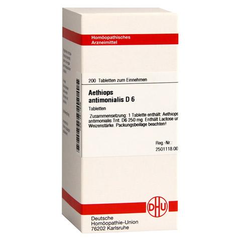 AETHIOPS antimonialis D 6 Tabletten 200 Stück N2