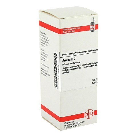 ARNICA D 2 Dilution 50 Milliliter N1