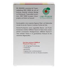 CEROLA Vitamin C Taler Grandel 60 Stück - Rückseite