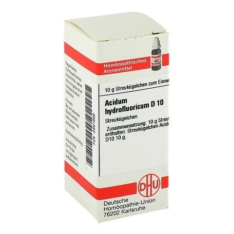 ACIDUM HYDROFLUORICUM D 10 Globuli 10 Gramm N1